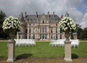 Франция свадьба замок